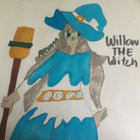 Willow The Witch (OC) by akevaaa