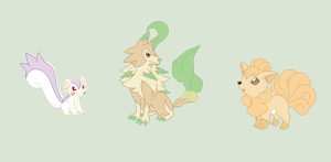 Pokemon hybrid adopts -CLOSED- by RoseLoverOfPastels