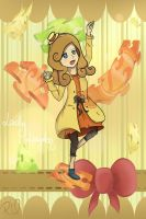 Lady Layton Fanart by MadameWatermelon