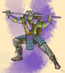 Donatello by Mismistral