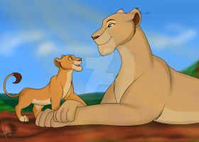 Mother and Daughter by Julis-Rocks