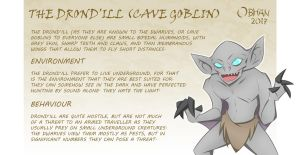 KTS RACES - Drond'Ill (Cave Goblins) by Obhan