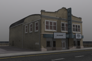 Old Theater Building by timzero4