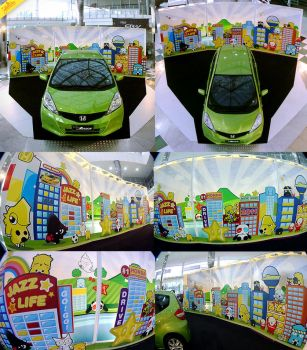 New Honda Jazz 2011 by theyellowdino