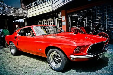 Muscle Car 1- Mustang by Piokharisma