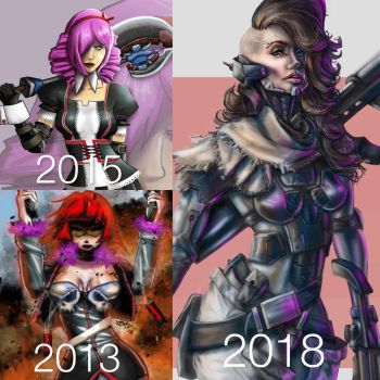 Then and now 2018 by seanbianchi