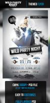Wild Party Night Flyer Template by odindesign