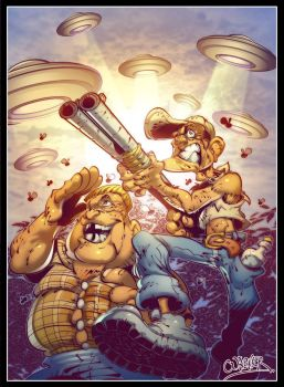 redneck rampage by wagnerbr