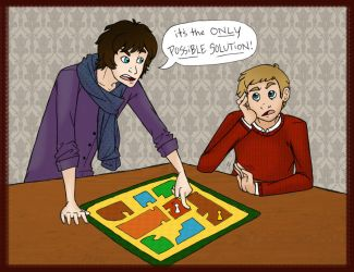 :Sherlock: its the ONLY POSSIBLE SOLUTION by Blue-Dragon22