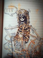 2017-2-22 skeleton by from-nothing-to-sky