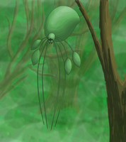 Balloon Spider by Juandfr