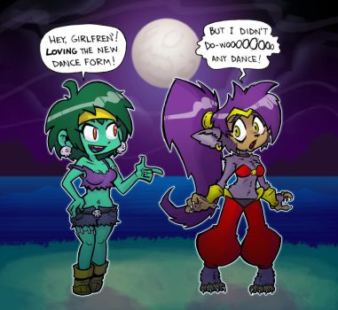 Shantae and the Werewolf's Curse by Mr-DNA