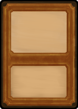 Playing card templates - Bronze front by Toomanypenguins