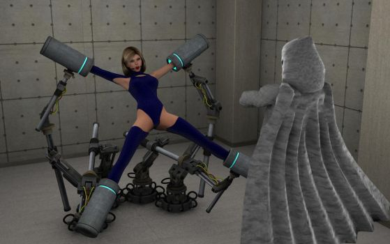 Raiding The Lair of Supervillain 6/7 by revpeng