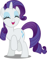 Vector #524 - Rarity #23 by DashieSparkle