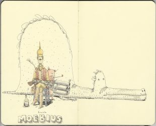 Tribute to Moebius by MattiasA