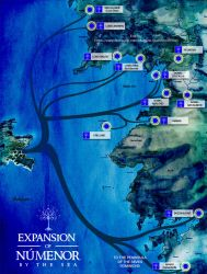 Expansion of Numenor by the sea by enanoakd