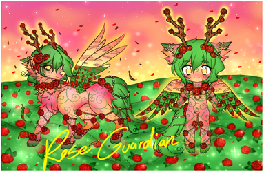 Realm Guardians Adopt - 01 : Rose Guardian CLOSED by StarryStellary
