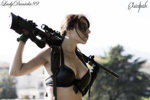 Quiet the Sniper by LadyDaniela89