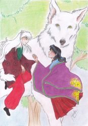 The Fairy Tale of the Dog Bridegroom by roter-Mondschein