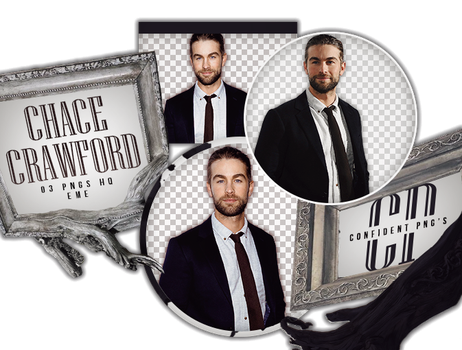 Png Pack 621 // Chace Crawford by confidentpngs