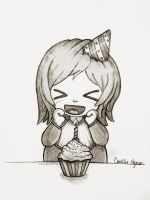 Birthday Muffin by Ploopie