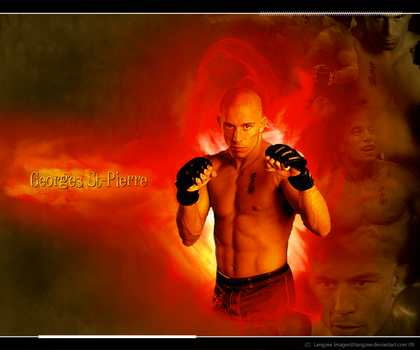 Georges St-Pierre Banner by Langzee