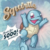 Squirtle 5000! by SuperEdco