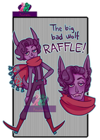 The big bad wolf|RAFFLE!|CLOSED! WINNER ANNOUNCED! by Proud-Delle