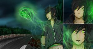 .: The Green Butterfly 1 :. by Eien-no-Yoru