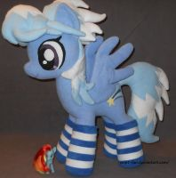 Cloud Chaser in socks by calusariAC