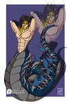 Tiger Dragon Naga Adopt Auction (CLOSED) by shaygoyle