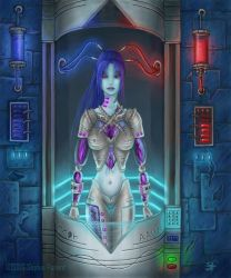 Female Android by Sanguinae