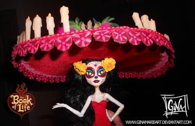 La Muerte Doll - The Book of Life Movie by GinaMarieArt