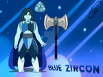 SU oc: Blue Zircon by NoxidamXV