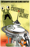 The Creeping Slime by cobaltkatdrone