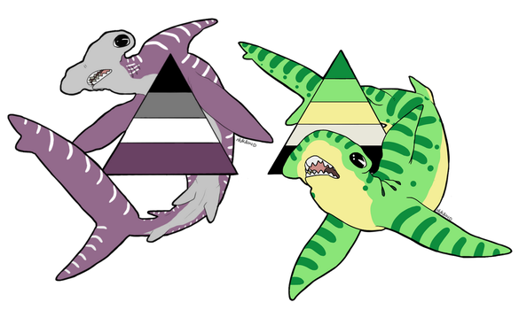 Aaayyye some Sharks by NukaKid