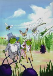 Three frogs 08 by Vanxee