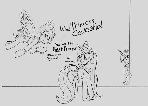 Wind Whistler meets THE best princess by fiftyfivefives