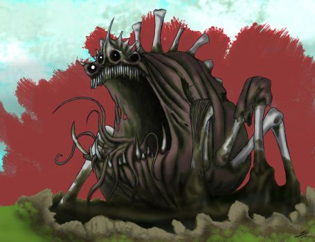 Death Colossus: Rotting Heap by Gagearin