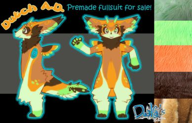 Dutch Angel Dragon Premade fullsuit for sale! by Zhiibe
