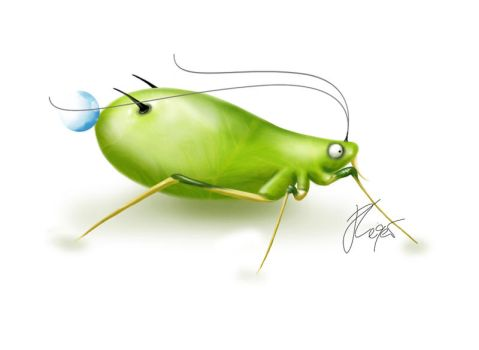Aphid - Spirit of the ants by ZenJulia