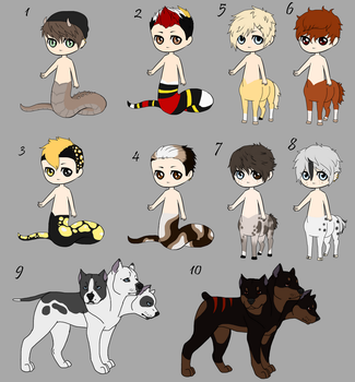 adoptables(OPEN) -WillowWinters by WillowWinters