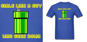 Mario Bros Warp Pipe Shirt by Enlightenup23