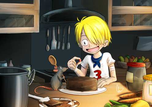 Sanji and Remy by S-concept