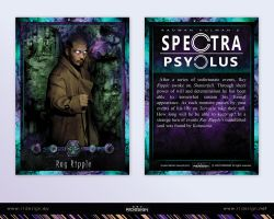 Spectra Psyclus - cards -13-Ray Ripple by R1Design