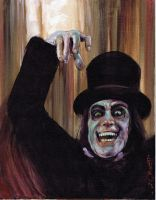London After Midnight 2 by Fusciart