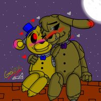 The Only One (Fnaf: Golex) by YaoiLover113