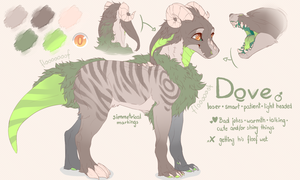 REF: Dove by ScribbleWoof