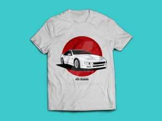 Nissan Fairlady 300ZX Z32 (Rising Sun) by Axle9